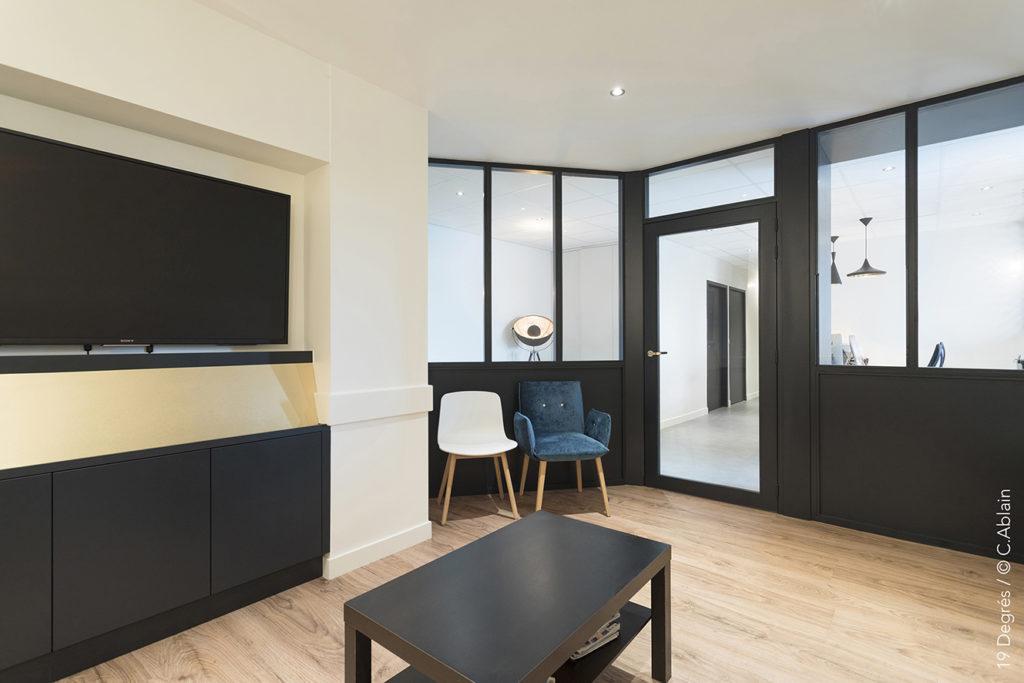 cabinet de m decine esth tique par l 39 atelier d 39 architecture 19 degr s blog de caroline ablain. Black Bedroom Furniture Sets. Home Design Ideas